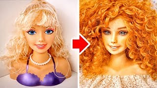 Download 3 COOL TRANSFORMATIONS FOR BARBIE AND MONSTER DOLLS Video