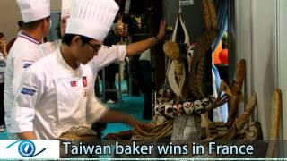 Download Taiwan baker wins in France Video