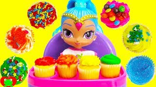 Download Best Learn Colors Video For Kids Shimmer and Shine's Shine Eats Cupcakes Video