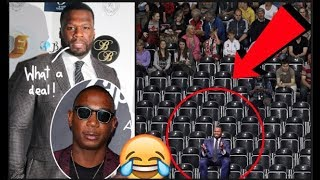 Download YO LOL! 50 Cent Buys Two Hundred Front Row Tickets Of Ja Rule's Show So It Would Be EMPTY! Video