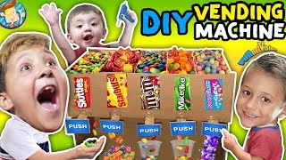 Download DIY Cardboard Candy Dispenser Vending Machine! |FUNnel Vision Video