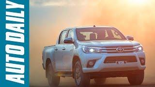 Download Autodaily.vn| Đánh giá xe Toyota Hilux 2016 trang bị động cơ, hộp số mới Video