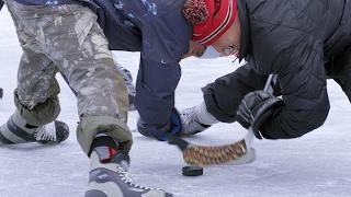 Download Mark McMorris vs. Craig McMorris in pond hockey | Good Times with Craig McMorris | CBC Sports Video