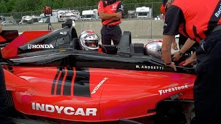 Download Mario Andretti likes drifting and takes me for a ride in a 2-seat Honda Indy car! Video
