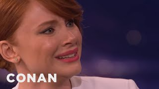 Download Bryce Dallas Howard Can Cry On Command - CONAN on TBS Video
