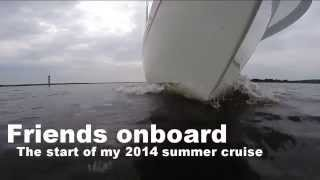 Download Sail Life - Start of my 2014 summer cruise (Albin Ballad, 30 ft sailboat) Video