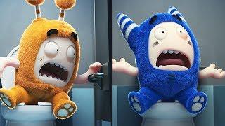 Download Oddbods New Funny Episodes Compilation | Toilet Pranks | Cartoons For Children Video