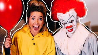 Download Turning My Brother Into Pennywise | Zoella Video