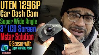 Download Uten Car Dash Cam 1296P Full HD Super Wide Angle 🚘 : LGTV Review Video