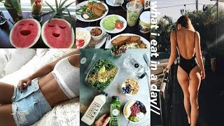 Download what i eat in a day (non vegan + healthy) Video
