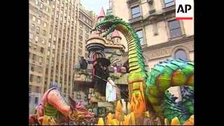 Download USA: NEW YORK: THANKSGIVING PARADE Video