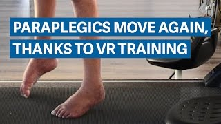 Download Scientists have found a way to make paraplegics move again Video