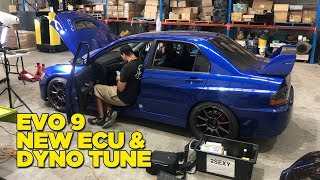 Download Return of the Evo 9 (to the Dyno) Video