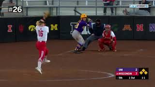 Download Top 40 Defensive Plays of the Year | B1G Softball Video