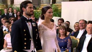 Download Prince Carl Philip of Sweden & Sofia (Wedding ceremony) (June 2015) Video