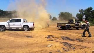 Download Land-Cruiser vs Amarok Video