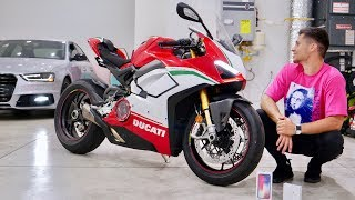 Download My New Ducati V4 Speciale! House Tour & iPhone X Giveaway! Video