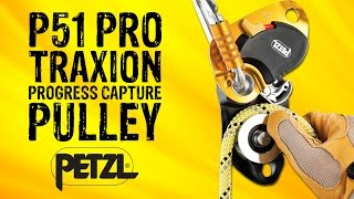 Download Petzl P51 Pro Traxion Progress Capture Pulley - GME Supply Video