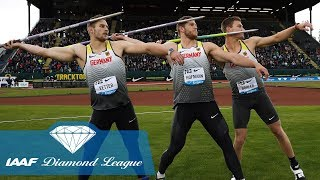 Download The 8 furthest javelin throws in IAAF Diamond League history Video