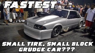 Download IS THIS THE FASTEST SMALL TIRE NITROUS SMALL BLOCK GRUDGE CAR OUT?!?! TEX MUSTANG Video