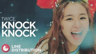 Download TWICE - Knock Knock (Line Distribution) Video