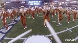 Download What it's like to march with the Longhorn Band Video