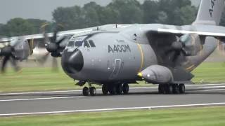 Download 【4K】RIAT 2016 A400M Airbus Military Video