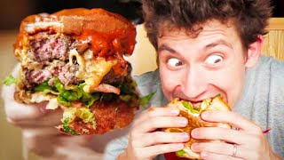 Download MONSTER Caramelised KIMCHI Burger - Best Burger in London!? Video