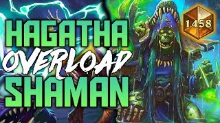 Download Hagatha Giant Overload Shaman | The Witchwood | Hearthstone Expansion Video