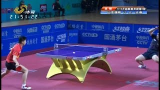 Download 2016 China Super League: MA Long vs FAN Zhendong [Full Match/Chinese|HD] Video