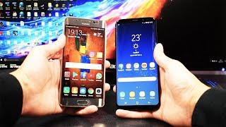 Download Samsung Galaxy S8 Plus VS Huawei Mate 9 Pro - Speed Test Video