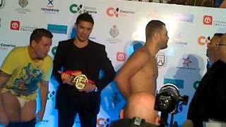Download Pesaje Campeonato de España Peso Crucero (-91 Kg) Ibrahim Lopez vs Luis Rodriguez Video