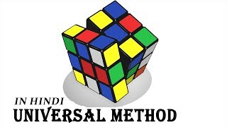 Download How to solve Rubik's Cube(3X3) in Hindi Part (1/2) Video