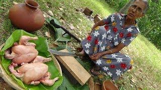 Download Chicken Recipe ❤ Spicy Black Chicken Curry prepared in my Village by Grandma Video