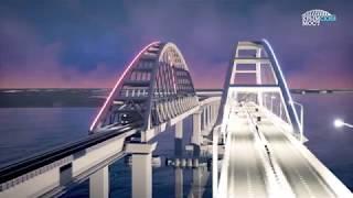Download Крымский мост. Новая визуализация Video