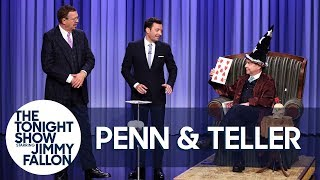 Download Penn & Teller Show Off a Lying, Cheating, Swindling Card Trick Video