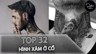 Download Top 32 hình xăm ở cổ đẹp nhất - Zebra Tattoo Video