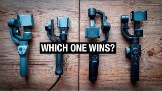 Download IPHONE GIMBAL SHOOTOUT | Osmo Mobile 2 vs Zhiyun Smooth 4 vs Moza Mini Mi vs FreeVision Vilta M Video