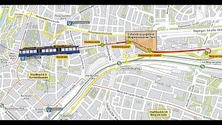 Download Tram Steinhausen: Spatenstich zur Neubaustrecke Video