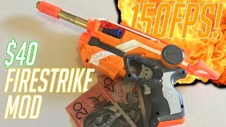 Spring Installation for Nerf Strongarm/Roughcut/Firestrike/Crossfire