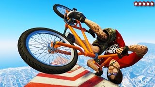 Download GTA 5 BMX & BIKE STUNT RACES - EPIC BMX GTA 5 ONLINE STUNTS & JUMPS - GTA 5 FUNNY MOMENTS & FAILS Video