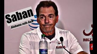 Download Alabama Crimson Tide Football: Nick Saban comments after Alabama's 45-23 victory over Texas A&M Video