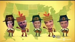 Download Trevor's Thanksgiving Thankstacular Round-Up: The Daily Show Video
