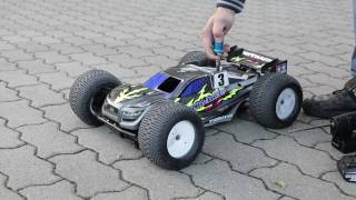Download RC Tamiya Nitrage 5,2 mit 2 Gang-Getriebe 2 Speed transmission. Video