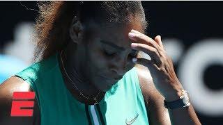 Download Serena Williams falls to Karolina Pliskova in three sets   2019 Australian Open Highlights Video
