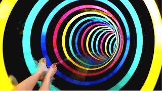 Download FALL INTO A BLACK HOLE MIND TRICK! (Best Illusions) Video