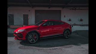 Download First Lamborghini Urus on the streets of Las Vegas Video