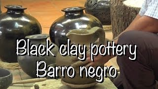 Download MEXICAN BLACK CLAY POTTERY - OAXACA - ¿CÓMO HACER UN CÁNTARO DE BARRO NEGRO? HD Video