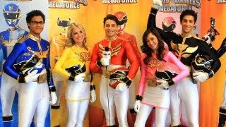 Download Nick's Power Rangers Megaforce Cast Interview Video