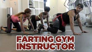 Download FARTING GYM INSTRUCTOR PRANK! Video